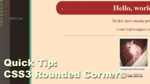 CSS3 Rounded Corners